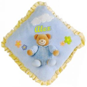 Personalised Embroidered Baby Pillow