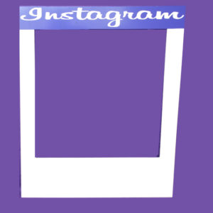 personalised instagram frame