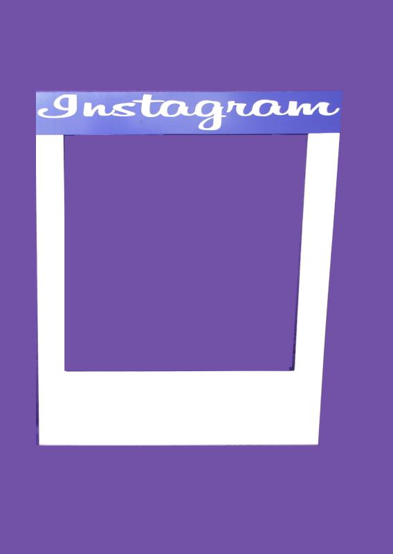 personalised instagram frame